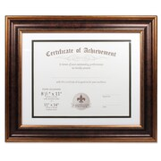 "Lawrence Frames 11"" x 14"" Dual Use Bronze Beaded Document Frame (188111)"
