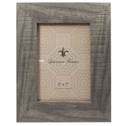 "Lawrence Frames 4"" x 6"" Weathered Gray Halloway Picture Frame (245246)"