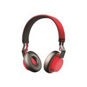 Jabra® 100-96300002-02 Wireless Over-The-Head Headset, Black/Red