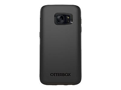 Otter Box 77-53057 Symmetry Synthetic Rubber/Polycarbonate Ultra Slim Case for Galaxy S7, Black