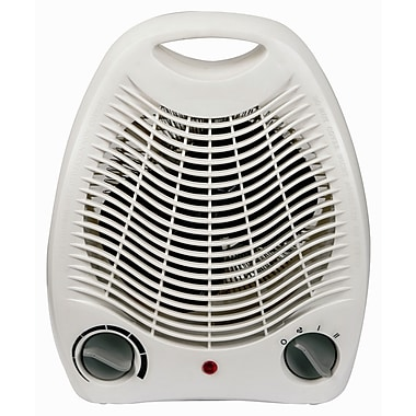 Royal Sovereign Compact Fan Heater, White, (HFN-03)