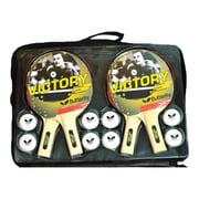 Butterfly Victory Table Tennis Racket Set; Four Player