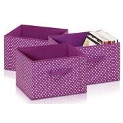 Furinno Laci Soft Storage Organizer (Set of 3); Purple