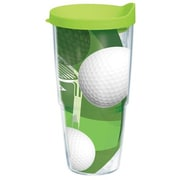 Tervis Tumbler Game On Golf Balls Tumbler with Lid; 24 oz.