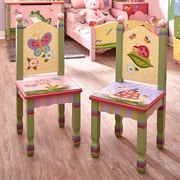 Fantasy Fields Magic Garden Kids Desk Chair (Set of 2)