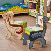 Fantasy Fields Dinosaur Kingdom Kids Desk Chair (Set of 2)