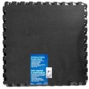 Stalwart Ultimate Comfort Foam Flooring in Black (Set of 4)