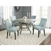 Safavieh Ludlow Dining Table; Ash Grey