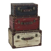 Aspire Torrance 3 Piece Trunk Set