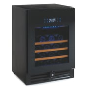 Wine Enthusiast Companies N'Finity Pro 46 Bottle Dual Zone Built-In Wine Refrigerator