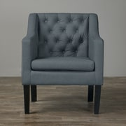 Wholesale Interiors Baxton Studio Brittany Club Chair; Gray