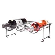 Oenophilia 6 Bottle Tabletop Halfpipe Wine Rack (Set of 2)