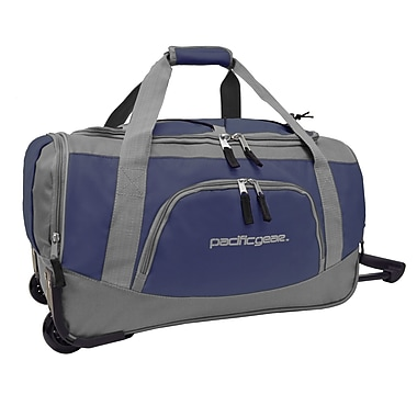 Pacific Gear 20'' Travel Duffel; Navy and Gray