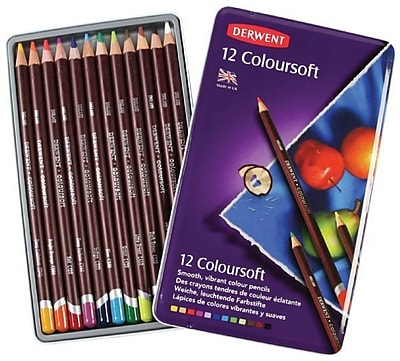 Derwent Pencil Color (Set of 12) WYF078276234394