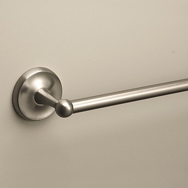 Premier Faucet Bayview Wall Mounted Towel Bar; Brushed Nickel