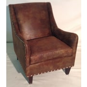 Carolina Classic Furniture Leather Club Chair