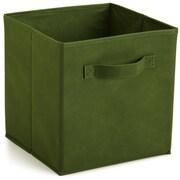 ClosetMaid Cubeicals Fabric Drawer; Dark Green
