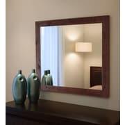 Rayne Mirrors Ava Rustic Pine Mirror; 32.5 x 38.5