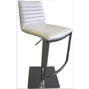 Bellini Modern Living London Swivel Bar Stool; White