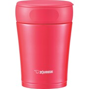 Zojirushi 1.5 Cup Stainless Steel Food Jar; Cherry Red
