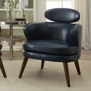 !nspire Faux Leather Arm Chair