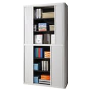 Paperflow EasyOffice 2 Door Storage Cabinet; Grey