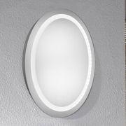 Elegant Lighting Element LED Electric Oval Mirror; 30'' H x 23''  W x 1.6'' D