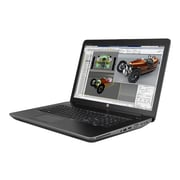 "HP® ZBook 17 G3 17.3"" Mobile Workstation, LED, Intel i7-6700HQ, 256GB SSD, 8GB RAM, Win 10 Pro, Space Silver/Black"