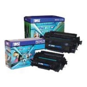 MSE 02-21-5516 Black 12500 Pages High Yield Toner Cartridge for P3015/P3015d HP LaserJet Printer
