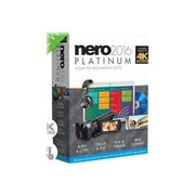 Nero 2016 Platinum Burn RIP Convert Utility Software, 10 User, Windows, DVD-ROM (AMER-12260000/569)