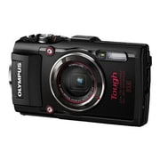 Olympus TG-4 16 MP Tough Digital Camera, 4x Optical Zoom, 4.5 - 18 mm Focal Length, Black