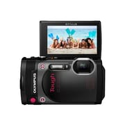 Olympus TG-870 16 MP Tough Digital Camera, 5x Optical Zoom, 3.74 - 18.7 mm Focal Length, Black