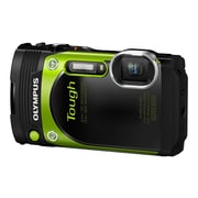 Olympus TG-870 16 MP Tough Digital Camera, 5x Optical Zoom, 3.74 - 18.7 mm Focal Length, Green