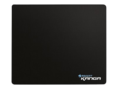 Roccat Kanga Cloth\/Rubber 10.6 x 12.5 Black Gaming Mouse Pad, ROC-13-010-AM
