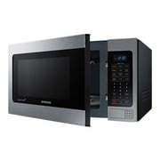 Samsung 1.1 cu. ft Counter Top Microwave with Grilling Element, Stainless Steel (MG11H2020CT/AA)