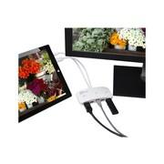 SIIG® Mini-DP Video Dock with USB 3.0 LAN Hub, White (JU-H30212-S1)
