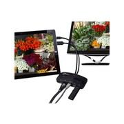 SIIG® Mini-DP Video Dock with USB 3.0 LAN Hub, Black (JU-H30412-S1)