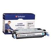 Verbatim® 96754 Cyan 7500 Pages Yield Remanufactured Toner Cartridge for HP LaserJet 4005 Series Laser Printer