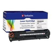 Verbatim® 98337 Magenta 11000 Pages Yield Remanufactured Toner Cartridge for HP Color LaserJet CP4025/4525 Laser Printer