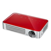 Vivitek® Qumi Q6 WXGA 3D Ready LED Pocket DLP Projector, Red