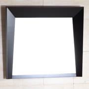 Bellaterra Home Wood Frame Mirror; 26'' H x 30'' W x 1'' D