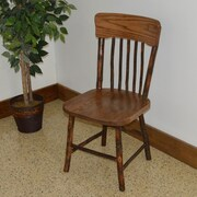 A&L Furniture Hickory Side Chair; Walnut