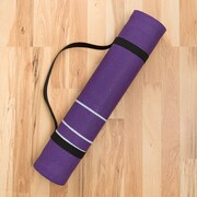 Harbormill Dandelion Yoga Mat; Purple