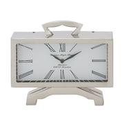 Woodland Imports Table Clock; 9'' H x 10'' W x 3'' D
