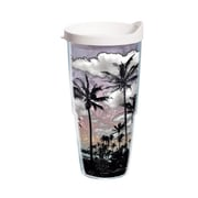 Tervis Tumbler Sun and Surf Palm Trees 24 Oz. Tumbler with Lid