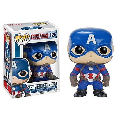 FUNKO Pop! Marvel : Capitaine America 3