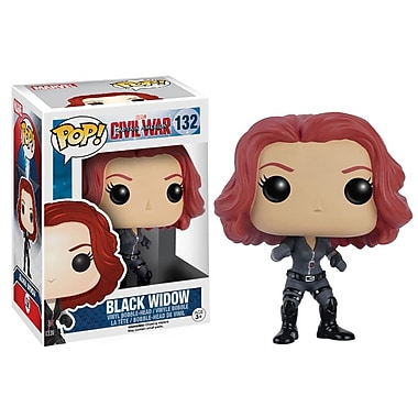 Funko Pop! Marvel: Captain America 3 - Black Widow
