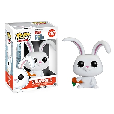 Funko Pop! Movies: The Secret Life of Pets - Snowball