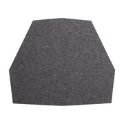 Blu Dot Real Good Dining Chair Cushion; Heathered Graphite