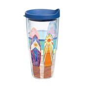 Tervis Tumbler Sun and Surf Two Can Surfboards 24 Oz. Tumbler with Lid